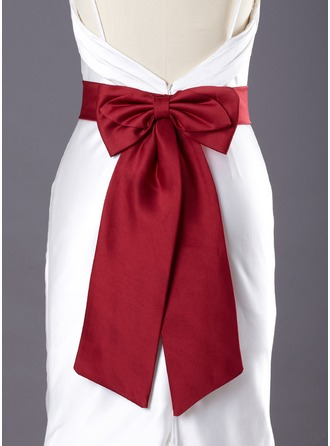 Women Satin Short/Mini Sashes