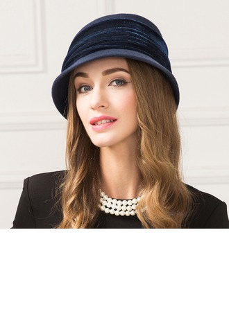 Ladies' Beautiful Wool Bowler/Cloche Hat