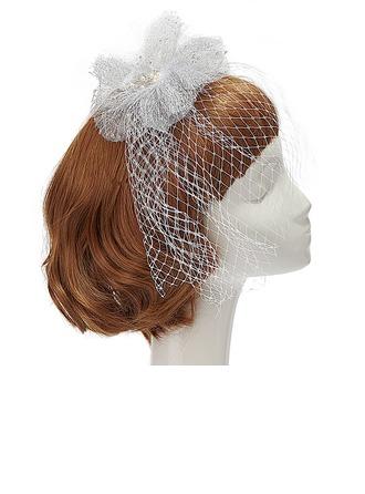 Spécial Perles d'imitation/Fil net Chapeaux de type fascinator