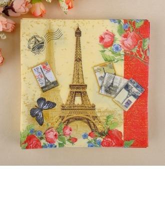 De Tour Eiffel Conception Serviettes de table