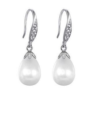 Élégante Cuivre/Platinum placage Femmes/Dames Boucles d'oreilles