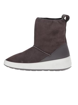 Femmes Suède Talon bas Bottines Bottes de pluie chaussures