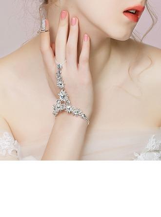 Brillant Alliage avec Strass/Perles Femmes/Dames Bracelets