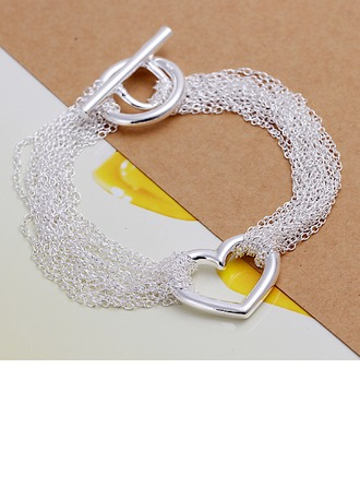 Gentil Argent plaqué Dames Bracelets de mode