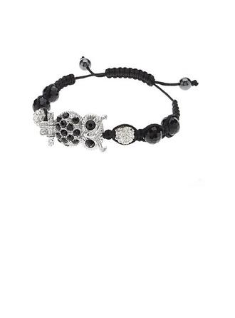 Hibou mignon Alliage avec Strass Dames Bracelets et chaînes de cheville