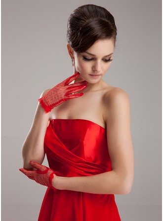 Tulle Wrist Length Party/Fashion Gloves