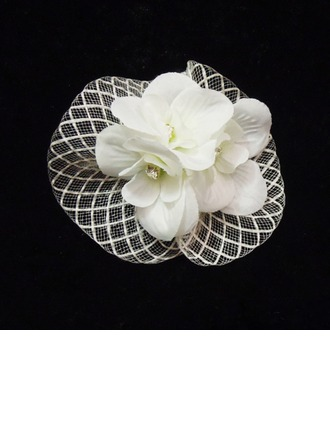 Charmant Strass/Fil net Chapeaux de type fascinator