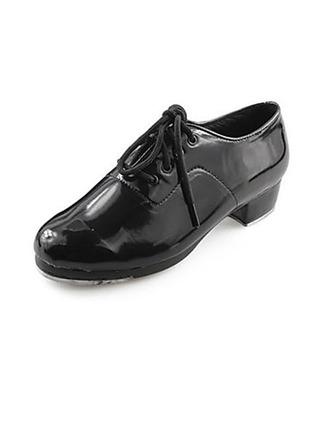 Femmes Hommes Unisexe Similicuir Claquettes Chaussures de danse