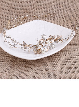 Glamour Alliage/De faux pearl Bandeaux