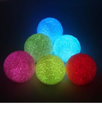 Changement de Couleur Rose Conception Vinyl Éclairage LED