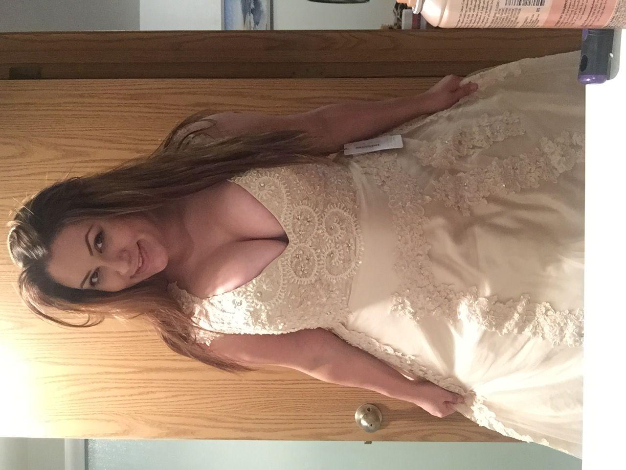 A linie princess linie v ausschnitt hof schleppe t ll for Where can i get my wedding dress steamed