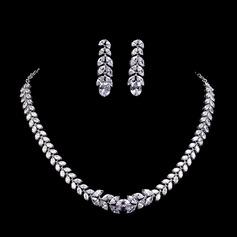 Gorgeous Zircon Ladies' Jewelry Sets