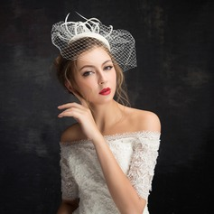 Ladies' Classic Feather/Net Yarn/Lace/Tulle With Feather Fascinators