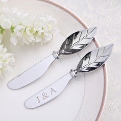 Personalized Leaf Design Zinc Alloy Spreader