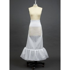 Women Polyester/Spandex Floor-length 1 Tiers Petticoats