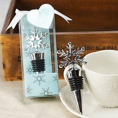 Creative Snowflake Shape Bottle Stoppers