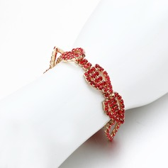 Charming Alloy/Rhinestones Ladies' Bracelets