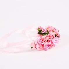 Romantic Paper Wrist Corsage -