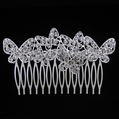 Simple Butterfly Alloy/Metal Combs & Barrettes (Sold in single piece)