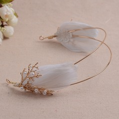Beautiful Alloy/Feather Tiaras