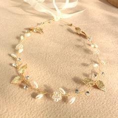 Ladies Pretty Crystal/Imitation Pearls Tiaras