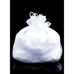 Satin With Crystal/Rhinestones/Bow Handbag