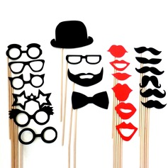 Funny Mask Beard Card Paper Photo Booth Props