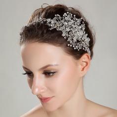 Exquisite A Level Rhinestone/Rock Crystal Quartz Headbands