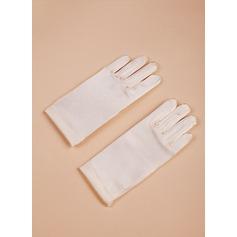 Satin Wrist Length Glove