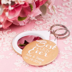 Personalized Plastic Compacts/Keychains