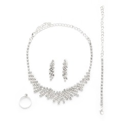 Classic Alloy/Rhinestones Ladies' Jewelry Sets