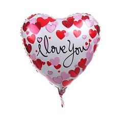 Heart Design Aluminium Foil Balloon