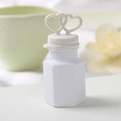 Heart Design Plastic Bubble Bottle