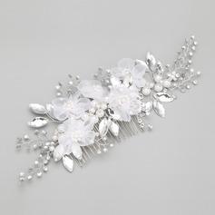 Charming Alloy/Imitation Pearls Combs & Barrettes