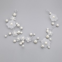 Amazing Imitation Pearls/Acrylic Headbands