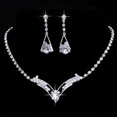 Charming Alloy/Rhinestones Ladies' Jewelry Sets