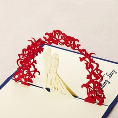 Three-dimensional Sweet Wedding Greeting Cards