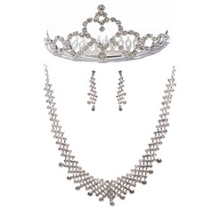 Fashional Alloy With Rhinestone Ladies' Jewelry Sets