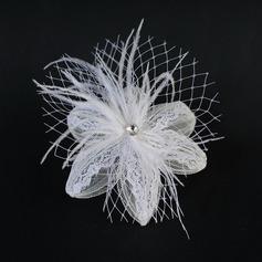 Fashion Feather/Lace Fascinators