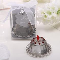 Cupcake Design Crystal Keepsake