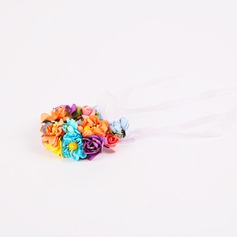 Colorful Paper Wrist Corsage -