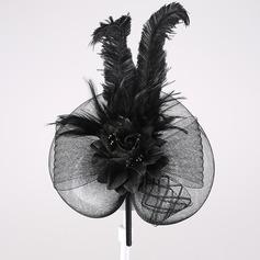 Fancy Feather/Cambric Fascinators/Headbands