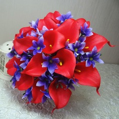 Bright Hand-tied Cloth Bridal Bouquets