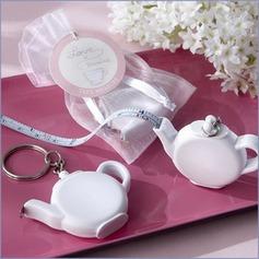 Teapot Plastic Keychains/Tape
