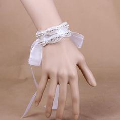 Refined Crystal/Organza Wrist Corsage