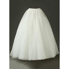 Women Tulle Netting Floor-length Petticoats
