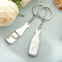 Personalized Zinc Alloy Keychains/Bottle Opener