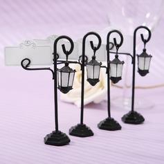 Street Lamp Zinc Alloy/Resin Place Card Holders