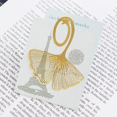Gingkgo Leaf Zinc Alloy Bookmarks