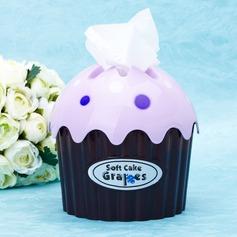 Cupcake Design Hard plastic Tissue Boxes